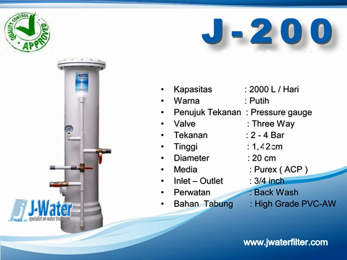Alat Penjernih Air J-200