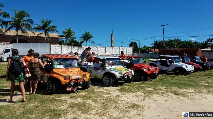 Associação doa Bugueiros de Beberibe - Morro Branco e Praia das Fontes - Tour 3 Praias