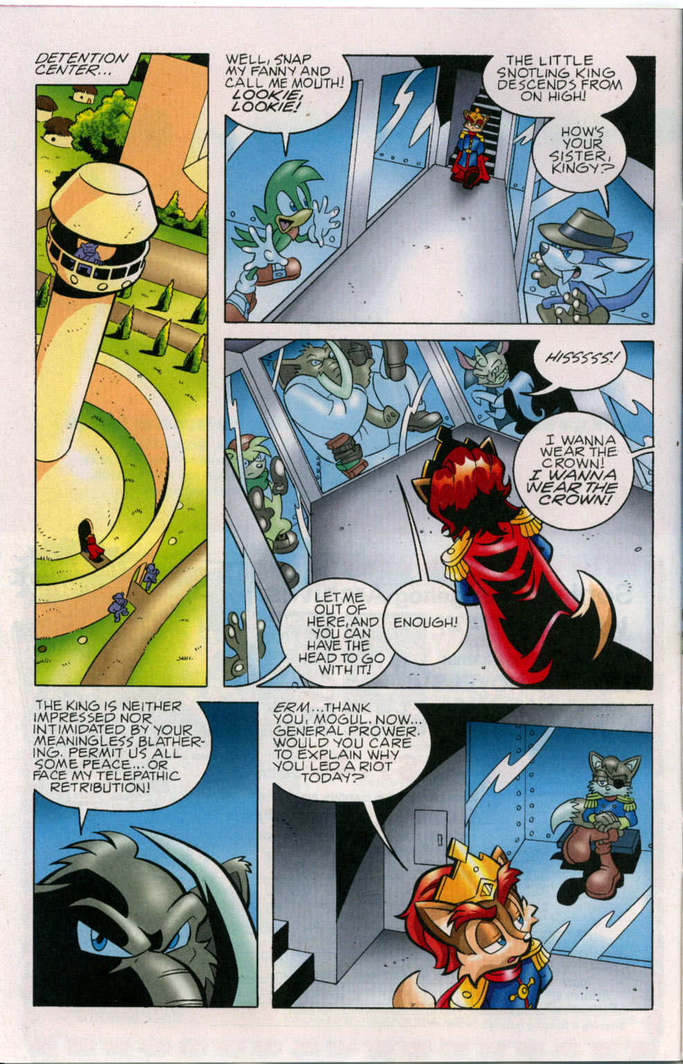 Read online Sonic The Hedgehog comic -  Issue #178 - 7
