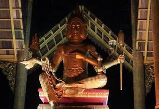 patung budha empat wajah surabaya