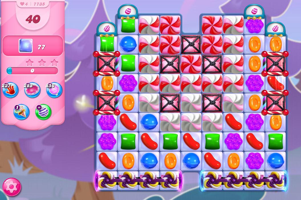 Candy Crush Saga level 7735