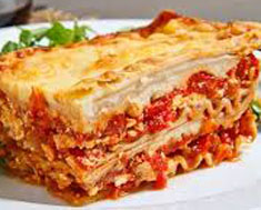 Resep masakan internasional lasagna panggang spesial (istimewa) khas italia praktis mudah sedap, nikmat, enak, gurih lezat