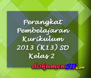 Perangkat Pembelajaran Kurikulum 2013 (K13) SD Kelas 2