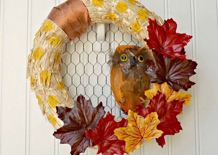 fall wreath craft ideas fall leaf craft ideas projects craft ideas 4429