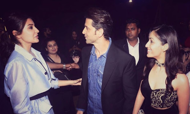 When Anushka meet Hrithik and Yami Gautam !!