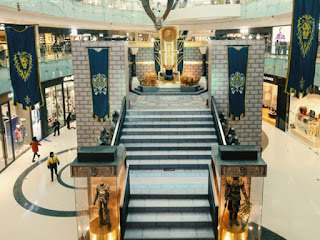 promosi warcraft di mall