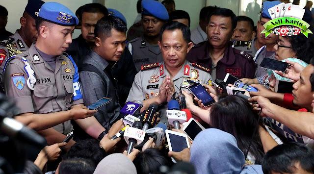 Amankan Pilkada 2018 Gagal, Kapolri Ancam Copot Kapolda