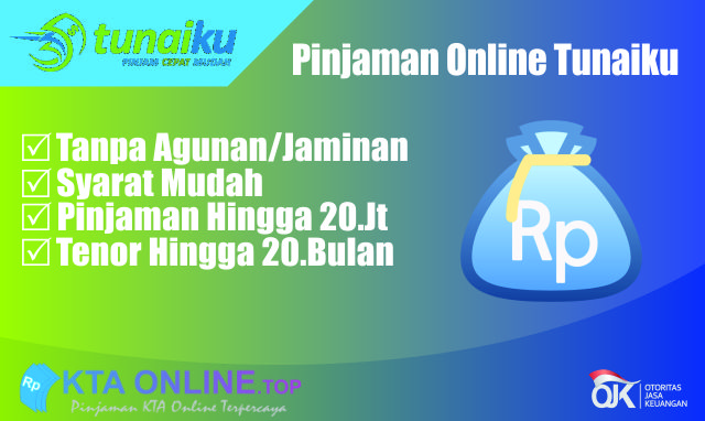 Pinjaman Online Tanpa Agunan Cukup KTP | Tunaiku