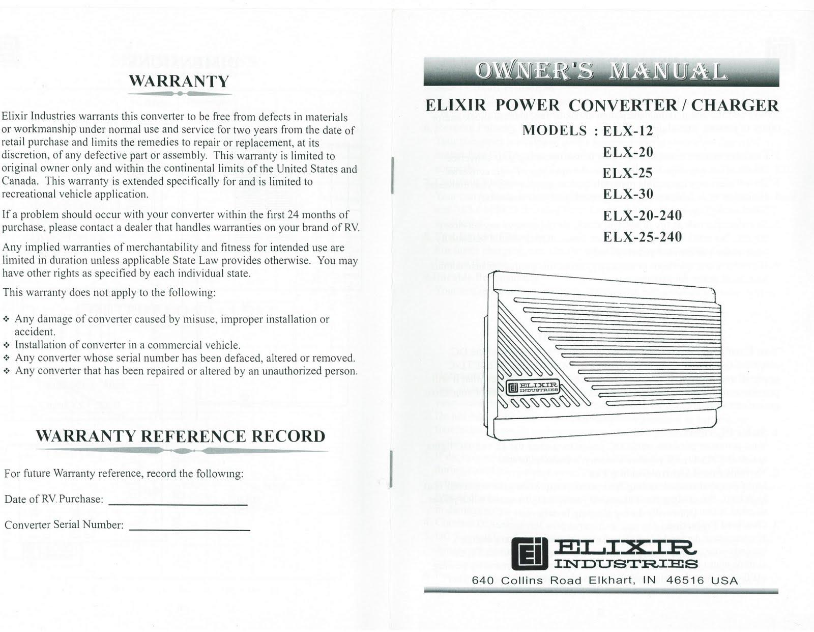 6b8bfa 30 Amp Rv Converter Wiring Diagram Wiring Diagram Library