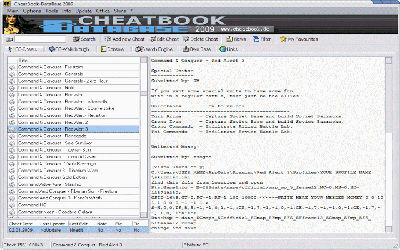 CheatBook-DataBase 2009 v1.0 - Logiciel de Triche sur Windows