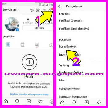 cara menghapus akun instagram 2018