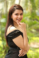 Mannara Chopra in Short Off Shoulder Black Dress ~  Exclusive 049.JPG