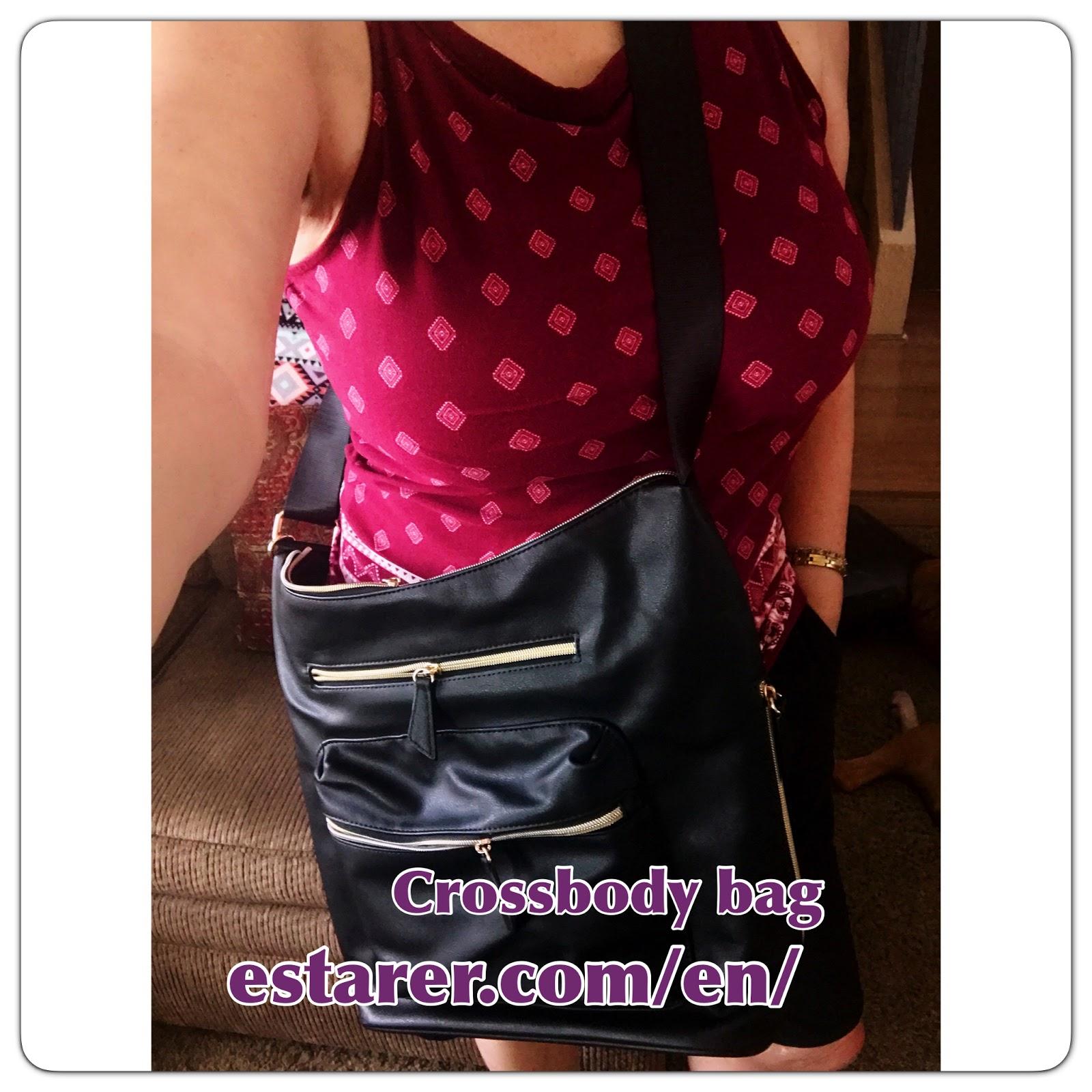d600087a3e5865 Estarer Womens PU Leather Shoulder Bag Purse for Work Travel Crossbody Tote  Hobo Handbag