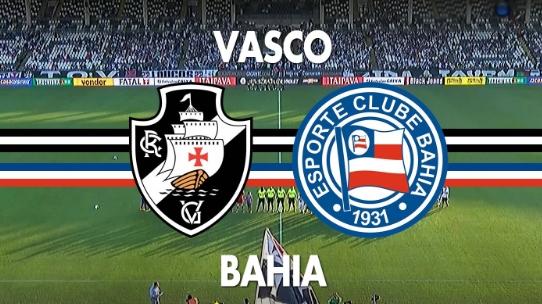 Histórico de equilíbrio nos confrontos entre Bahia e Vasco