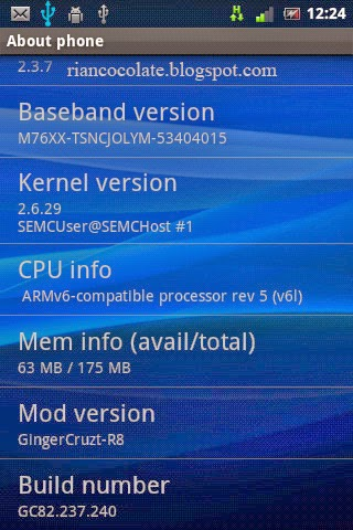 Cara Update Baseband Android W8/X8 | Rian Cocolate