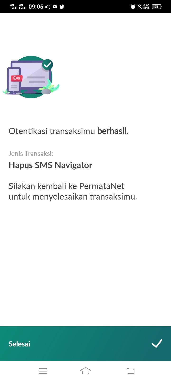 Cara Menonaktifkan SMS Navigator Bank Permata
