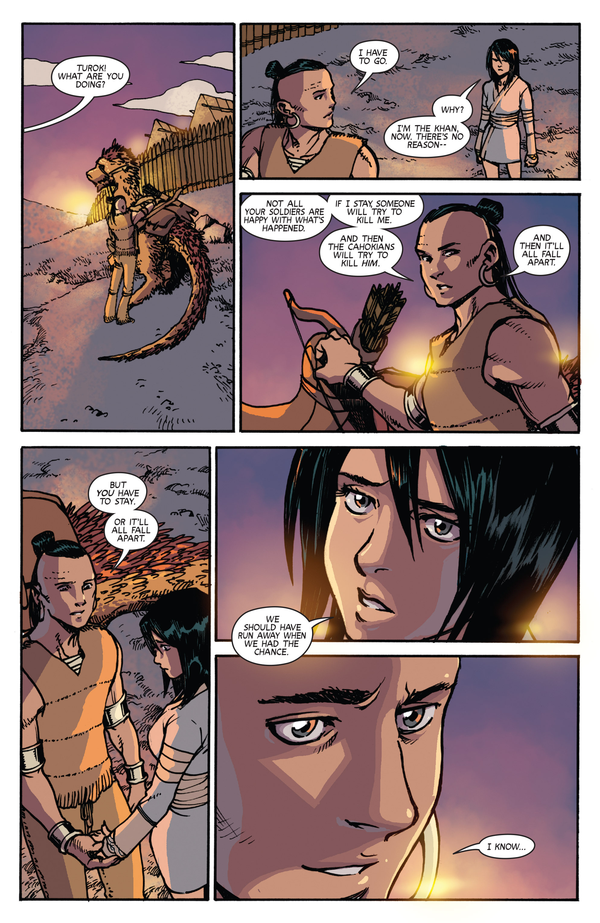 Read online Turok: Dinosaur Hunter (2014) comic -  Issue # _TPB 2 - 84