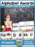 Alphabet awards are great for encouraging children to learn the letters! Great alphabet printables to motivate students, find a gorgeous free printable on the blog! :-)