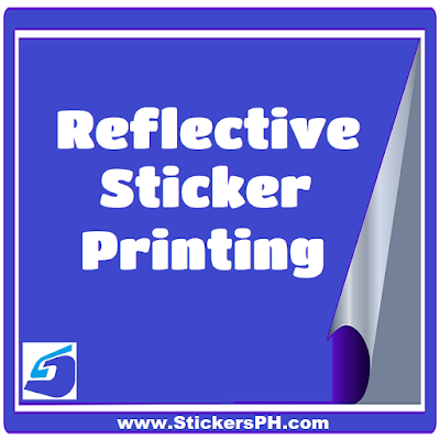 Reflective sticker printing stickersph com philippines