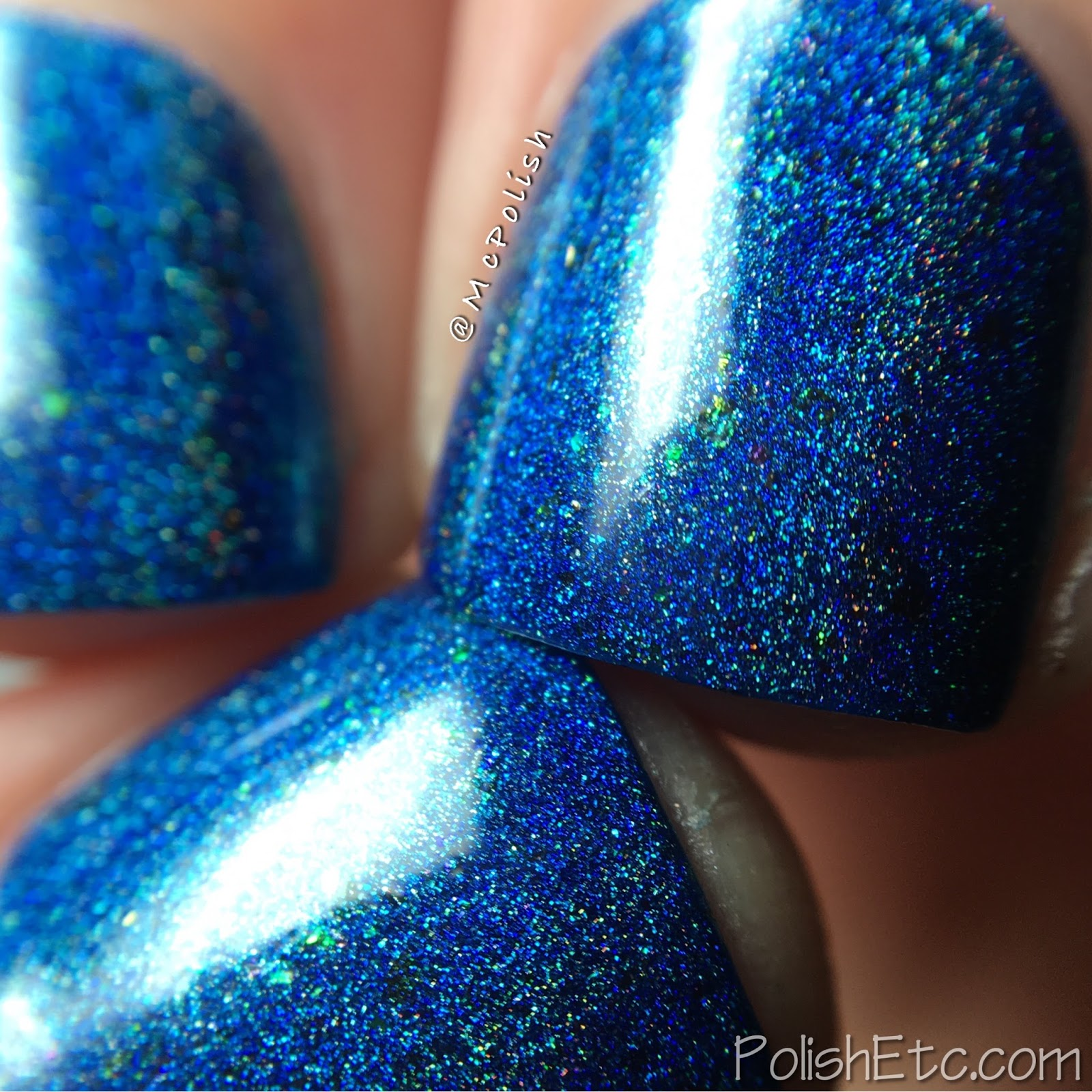 Road to Polish Con - Week 3 - McPolish - Navy or Not, Hear I Come by KBShimmer