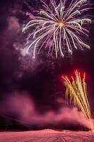 Kamafuseyama Ski Carnival 2015 Fireworks 平成27年 釜臥山スキー場カーニバル 花火打ち上げ