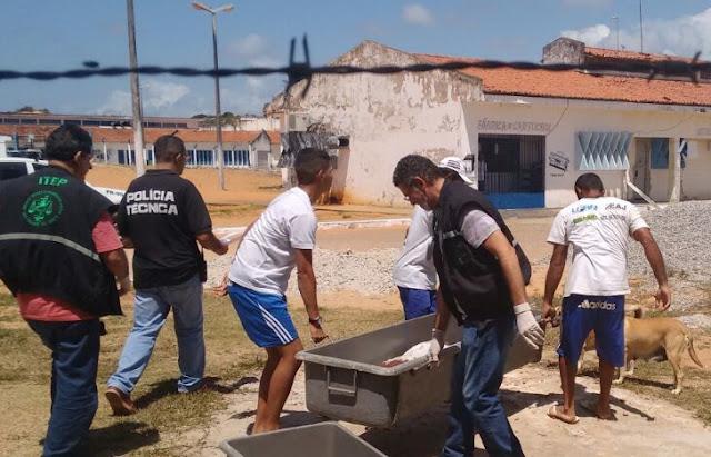 Resultado de imagem para FOTOS ALCAÇUZ  MORTES DOS PRESOS