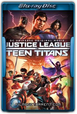 Justice League vs. Teen Titans Torrent 2016 720p e 1080p BluRay Legendado