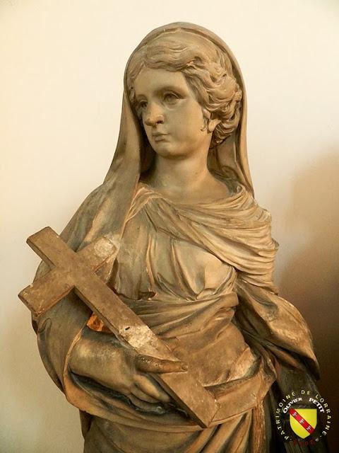 NANCY (54) - Musée lorrain : Génie tenant le portrait de Jean des Porcelets - Allégorie de la Foi