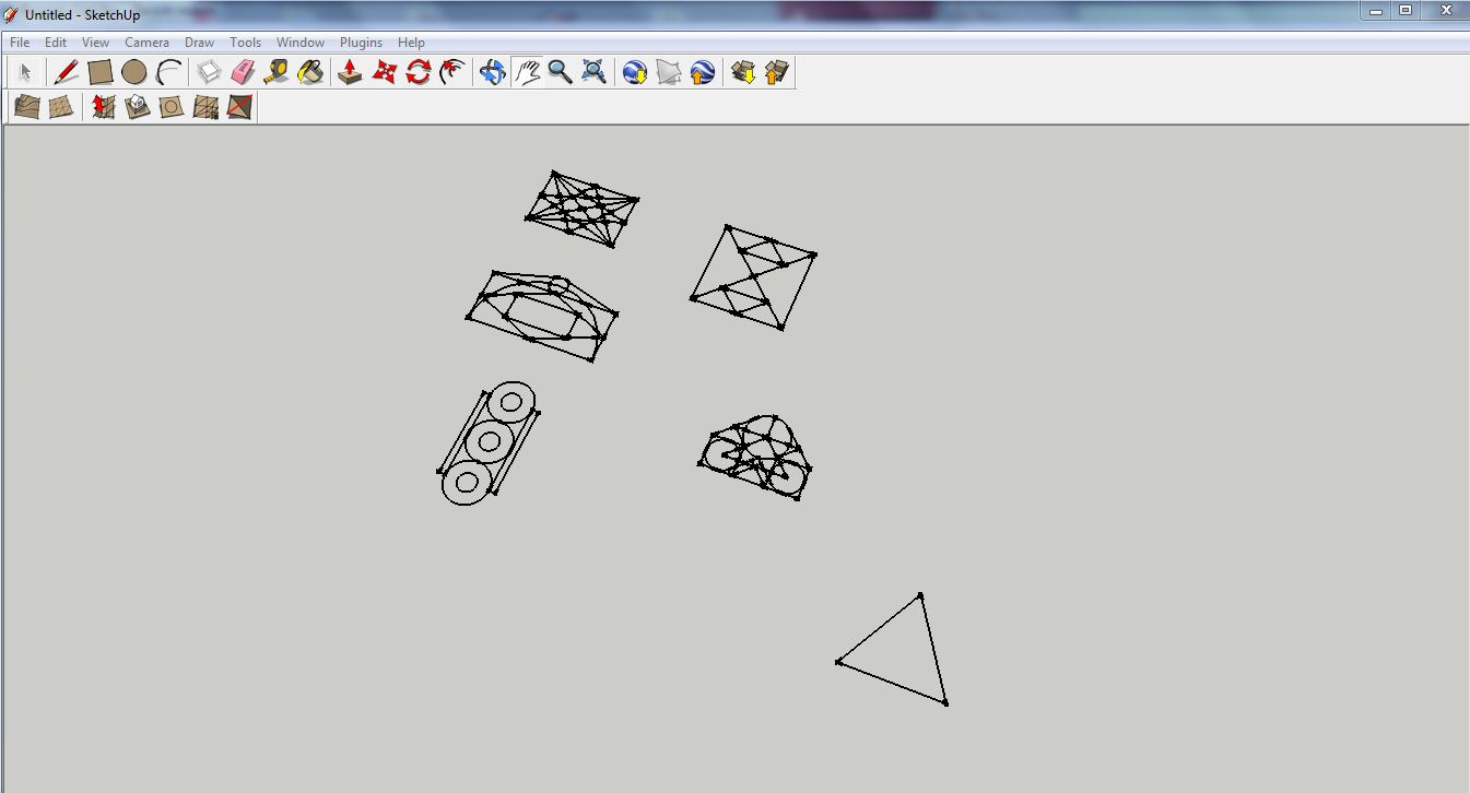 Import a Nanocad drawing to Sketchup, a test… | Everything