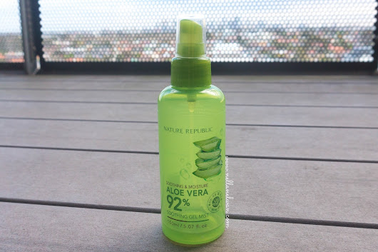 My Favorite Face Mist Ever - Nature Republic Soothing Gel Mist