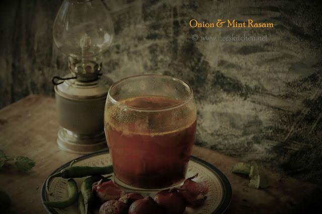 Onion Mint Rasam