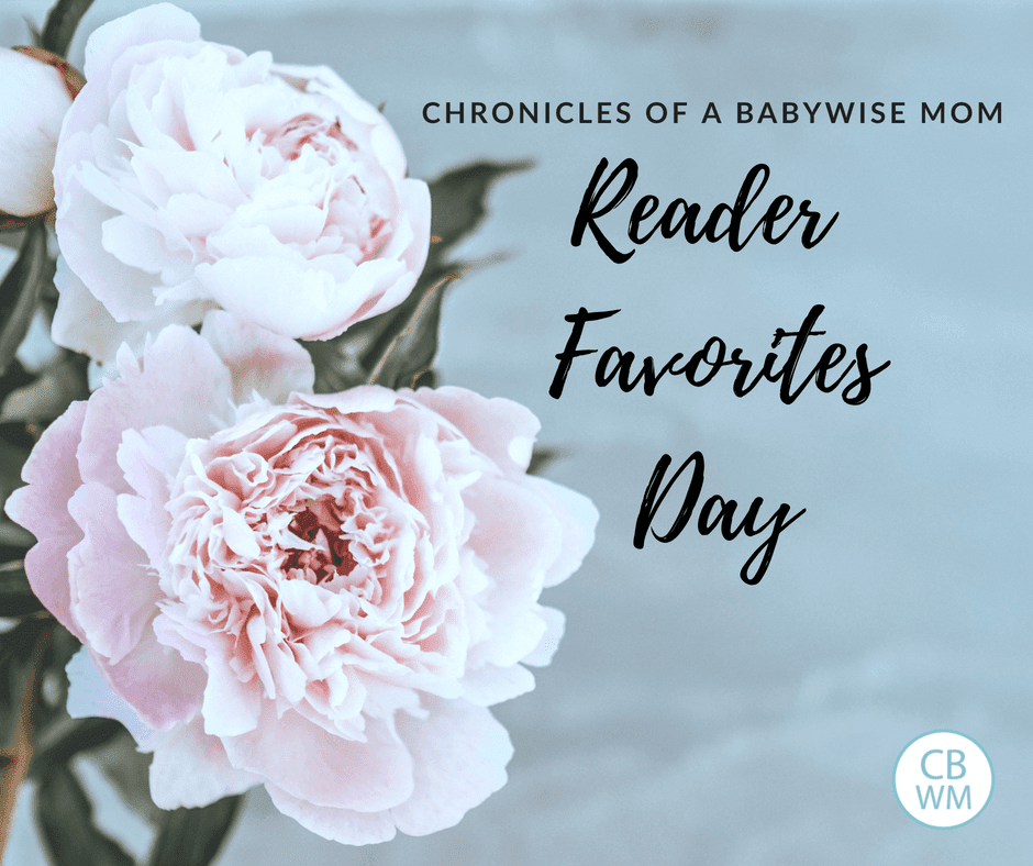 Babywise Mom Reader Favorites Day 2018