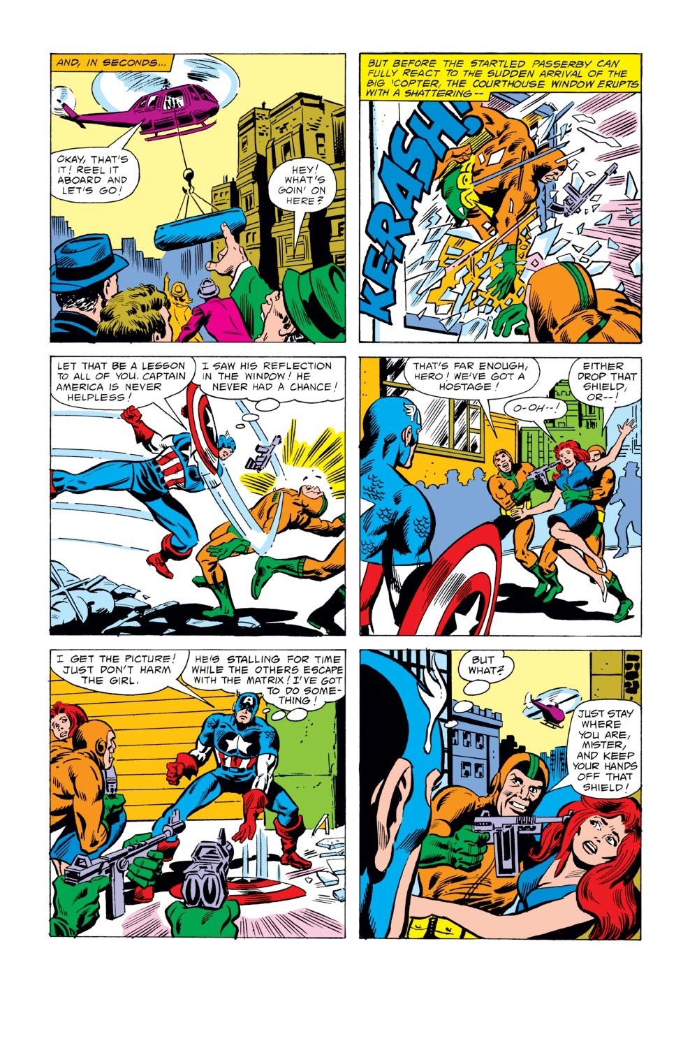 Captain America (1968) Issue #243 #158 - English 6