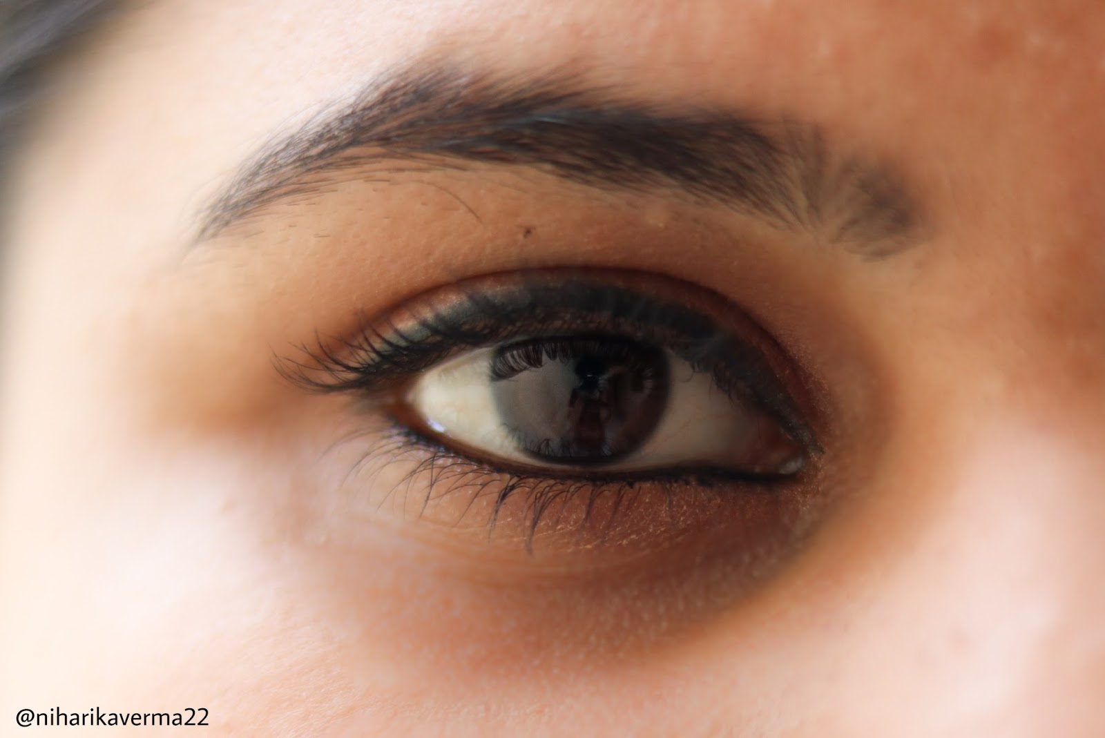 nykaa kajal on eyes