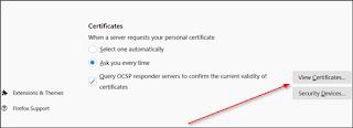 Mengapa Anda harus menghapus Sertifikat DarkMatter dari Firefox