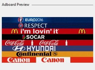 EURO 2016 adboards