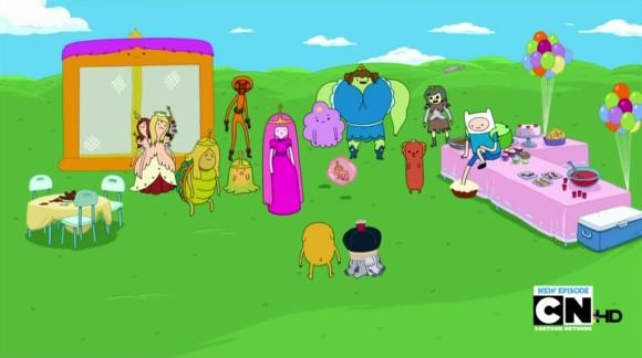 Adventure time princess potluck episode / Streamiz film aventure