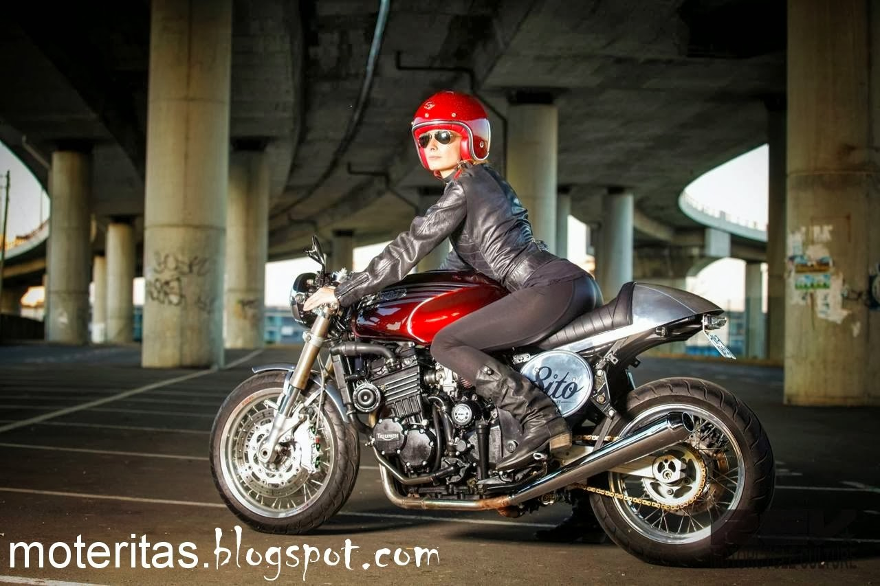 Motos Y Mujeres Resolución Hd Café Racer And Babes