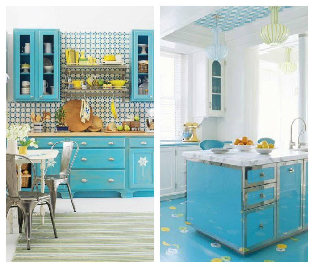 Muebles De Cocina En Color Turquesa Ocinel Com # Muebles Turquesa