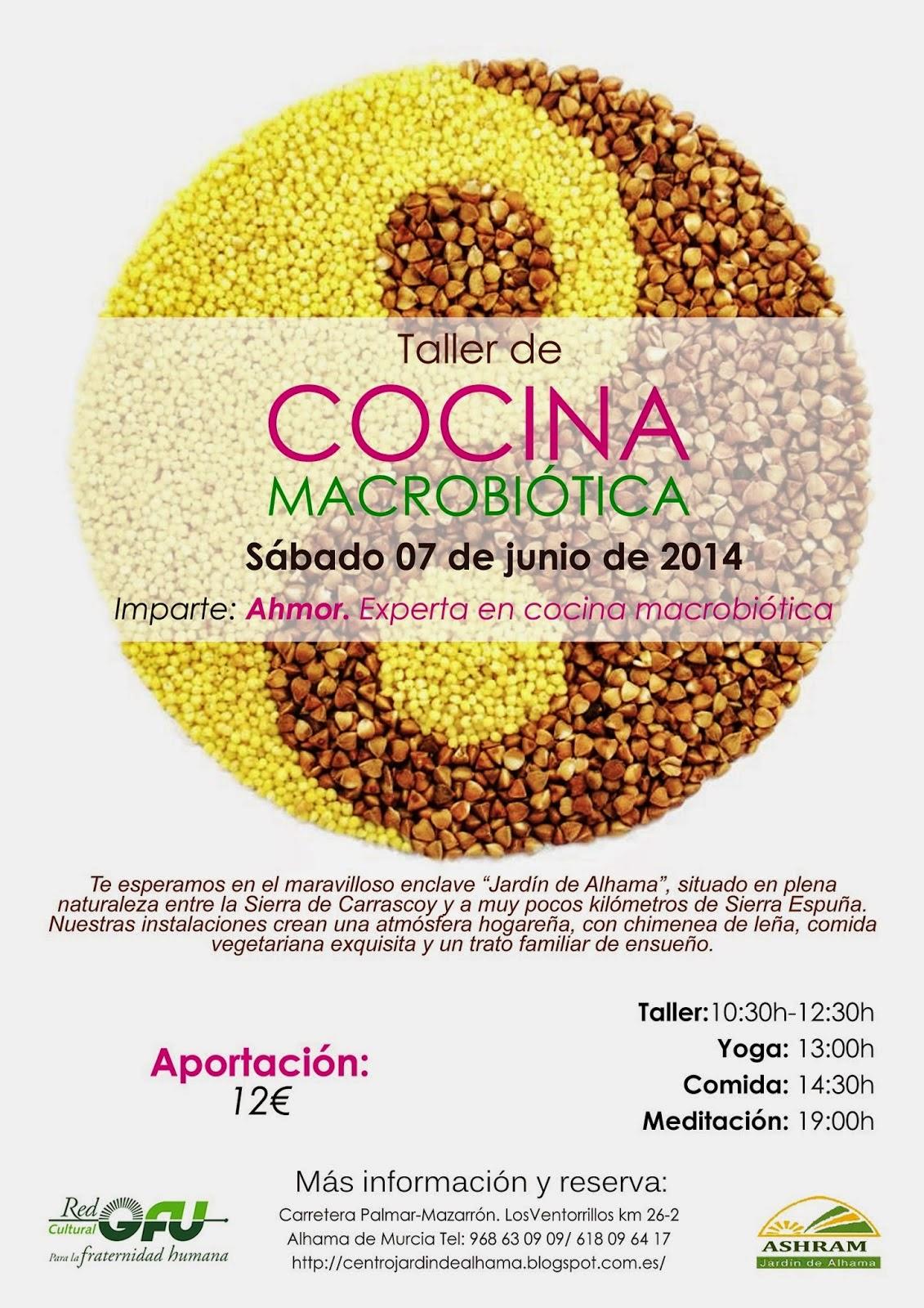 Centro de yoga aquarius taller de cocina macrobiotica en for Cocina macrobiotica