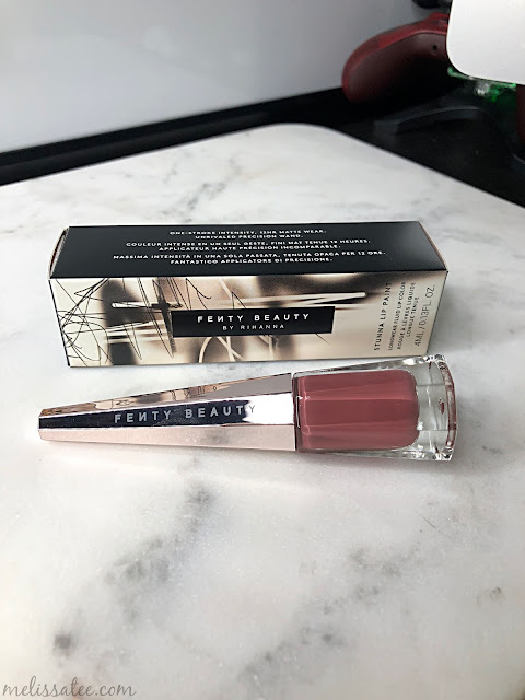 fenty beauty, fenty beauty stunna lip paint, fenty beauty stunna lip paint in uncuffed, fenty beauty stunna lip paint swatches, fenty beauty uncuffed