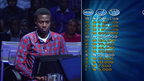 fcbaf979658c He Won 5 Million Naira Using My '8 Tips To Winning 10 Million On Who Wants  To Be A Millionaire?'