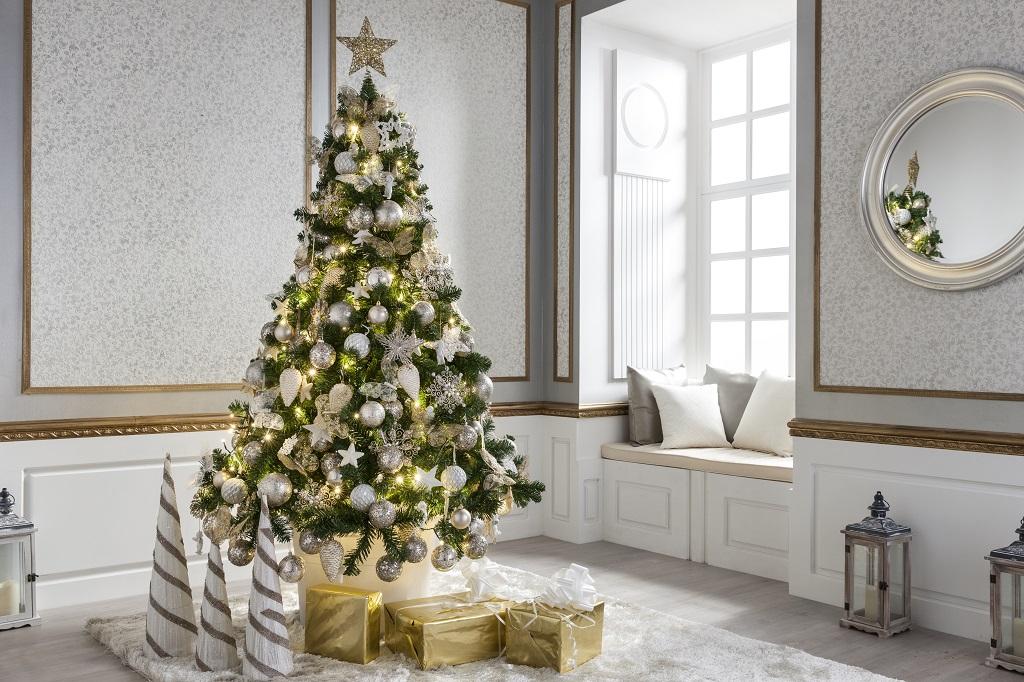 Árvores De Natal Decoradas ~ Decoração E Ideias – Casa E Jardim~ Decoracao De Arvore De Natal Natural
