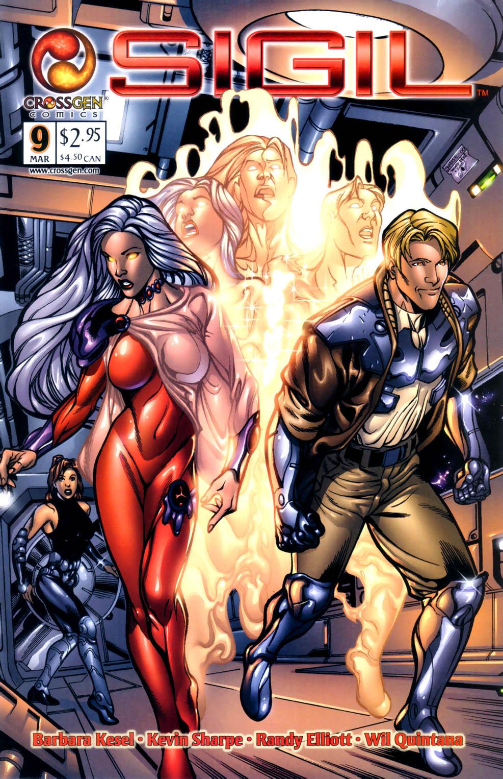 Read online Sigil (2000) comic -  Issue #9 - 1
