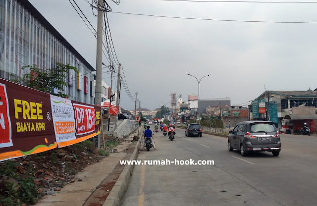 Jalan Utama Pamulang www.rumah-hook.com
