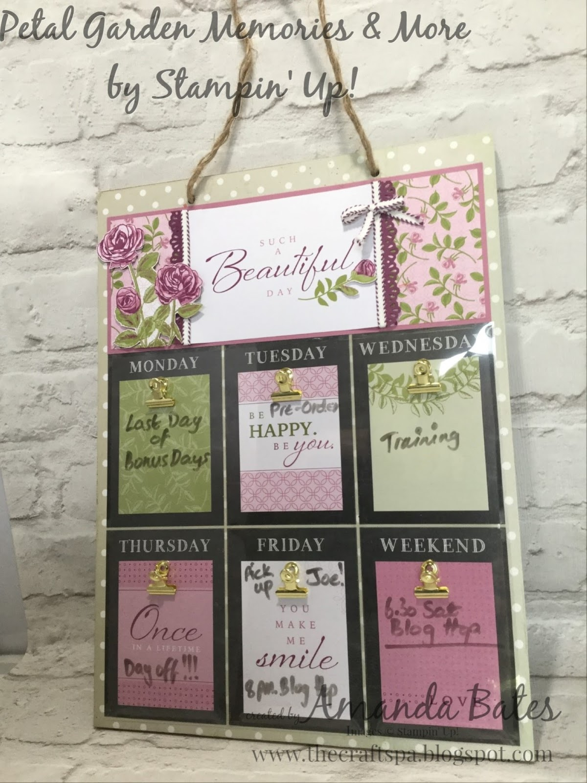 Anything But A Card For August Jems Blog Hop