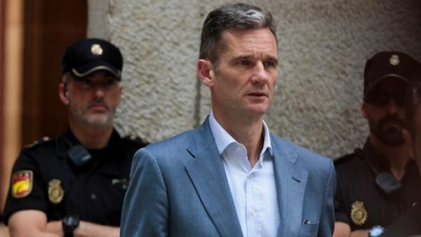 Entra en prisión Iñaki Urdangarin, cuñado del rey de España