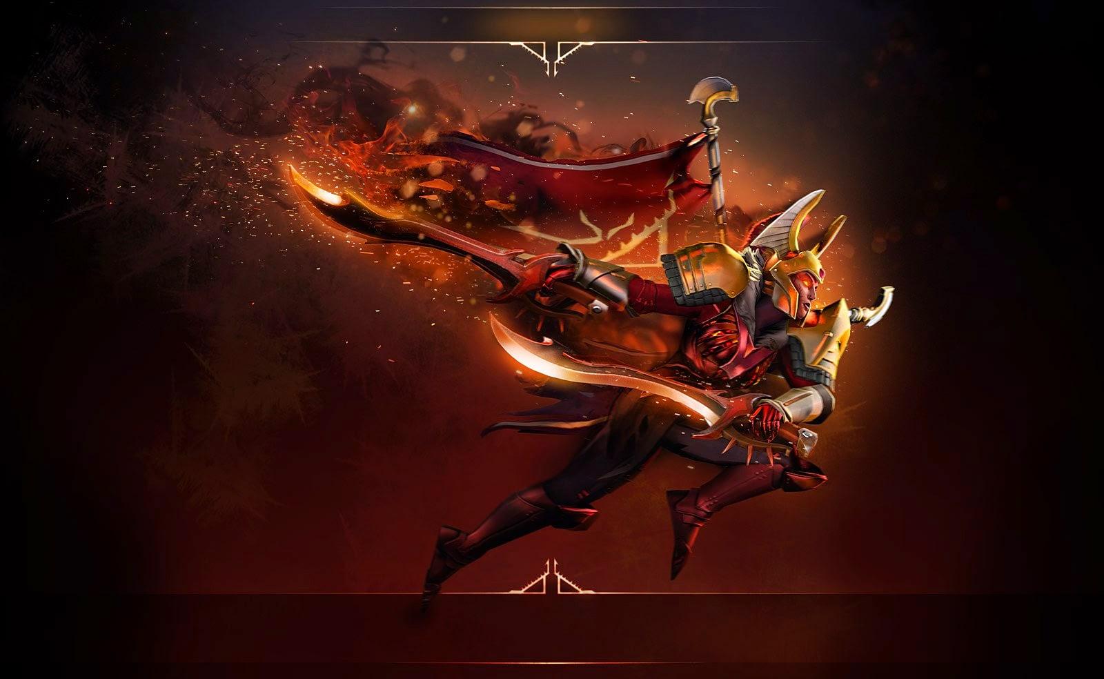 Dota 2 Arcana: Legion Commander Arcana - Blades Of Voth