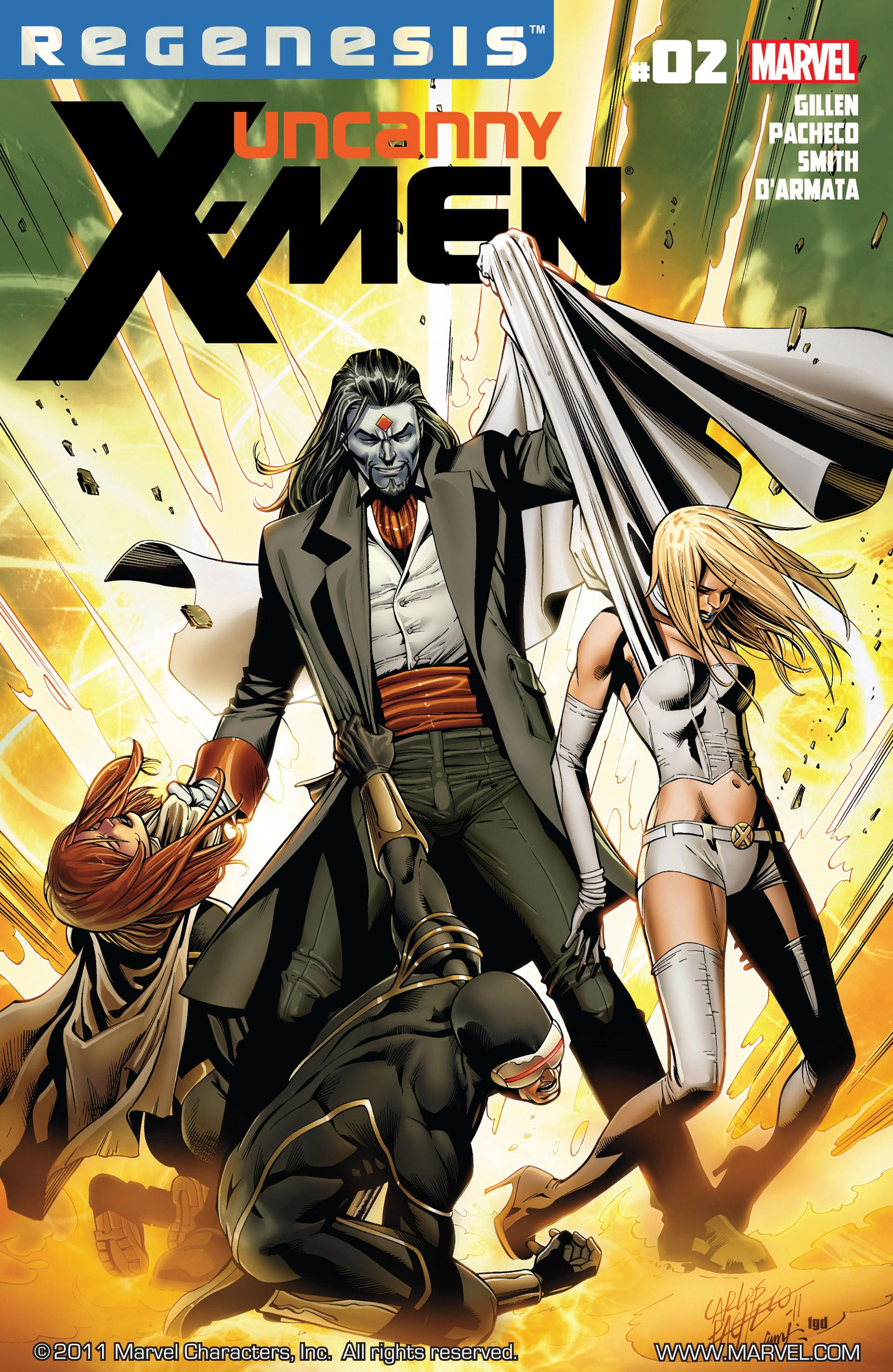 Read online Uncanny X-Men (2012) comic -  Issue #2 - 1
