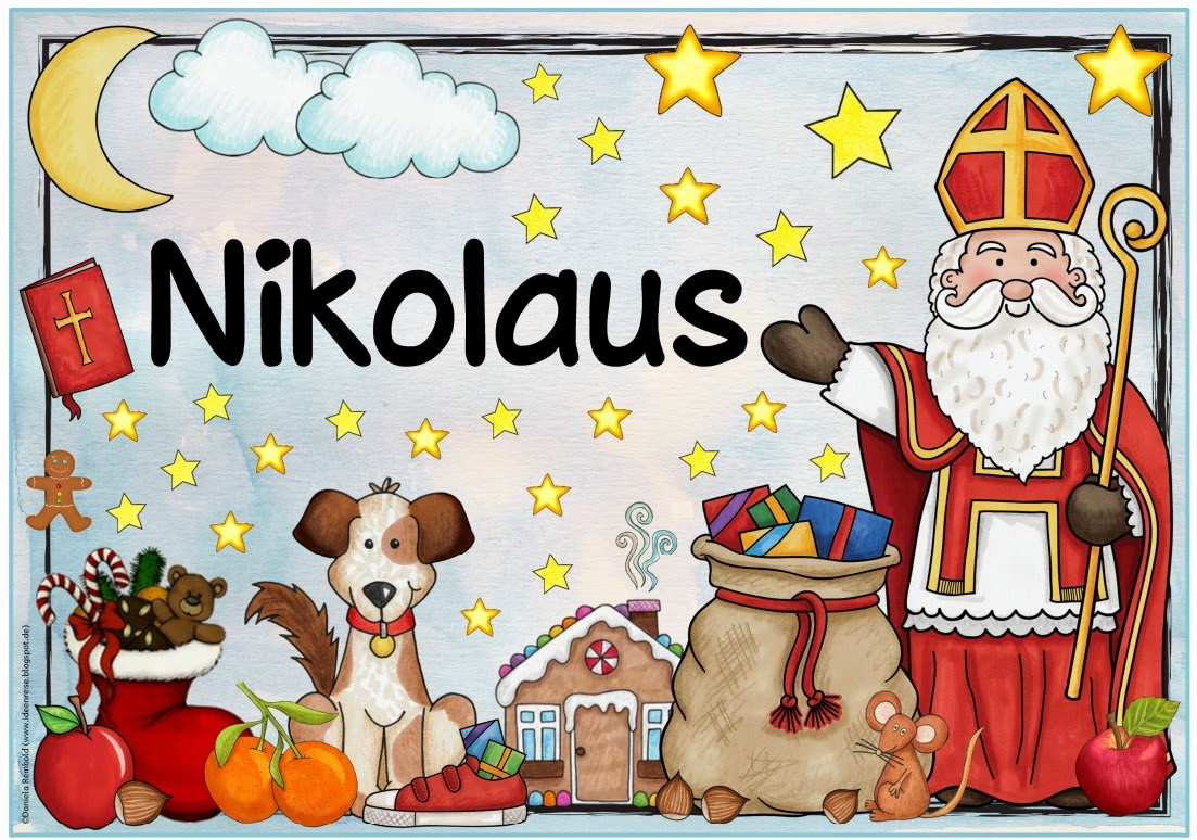 Benedictinosvenezuela Spruche Zum Nikolaus